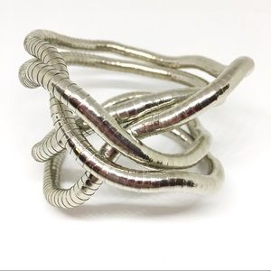 Jewelry - Fluid Snake Omega Chain Necklace Bracelet Moldable